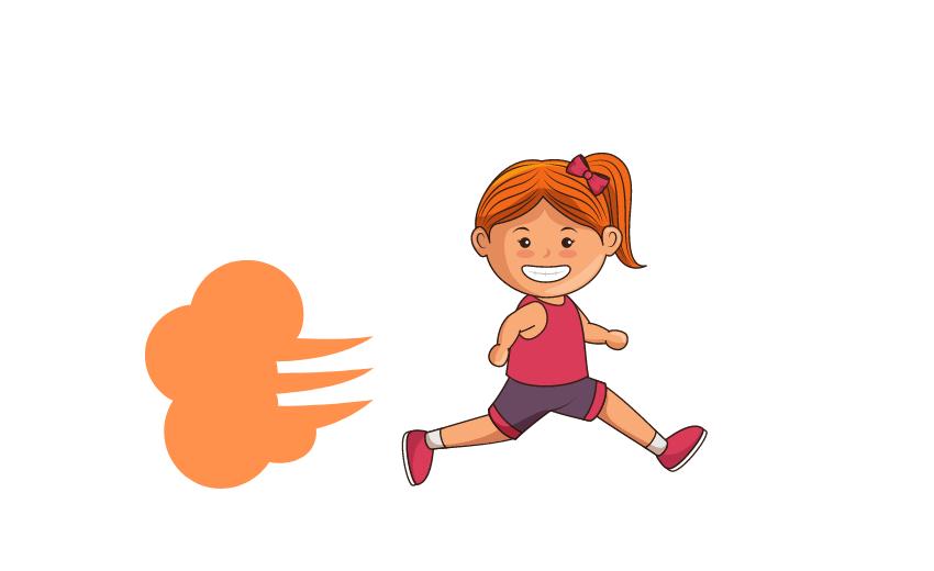 【幼稚園・保育園児向け】足が速くなる走り方【ポイント3つ&練習方法解説】